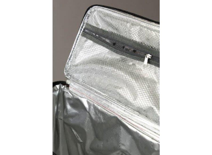 2 in 1 Cooler Tote Bag, Multipurpose bag - Red