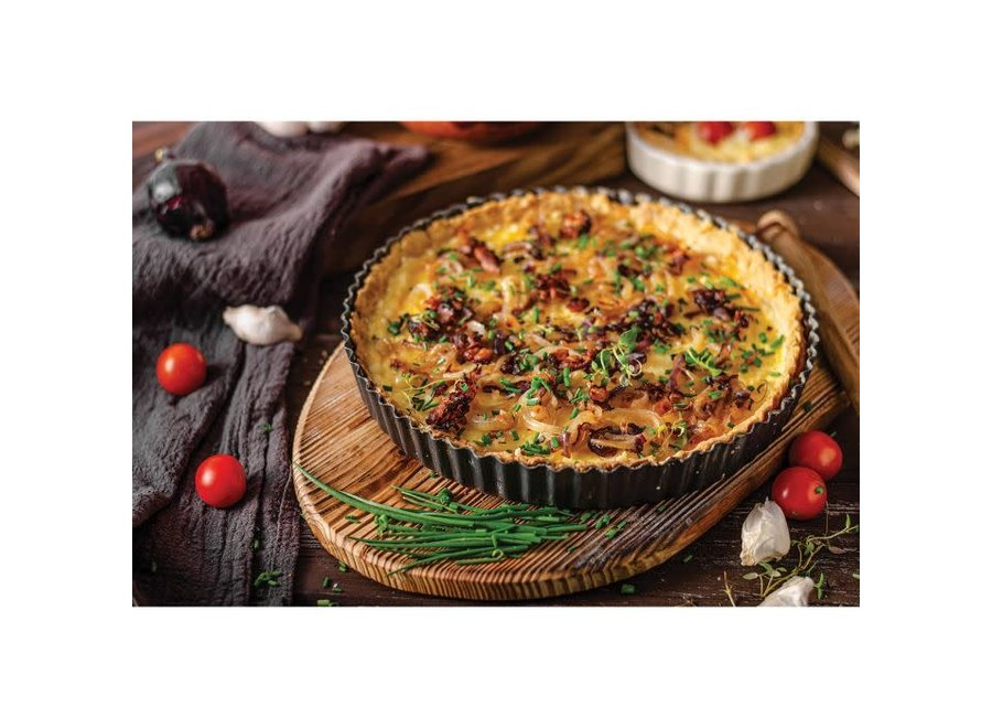 Mrs. Anderson's Baking Non-Stick Round Quiche Pan, 11""