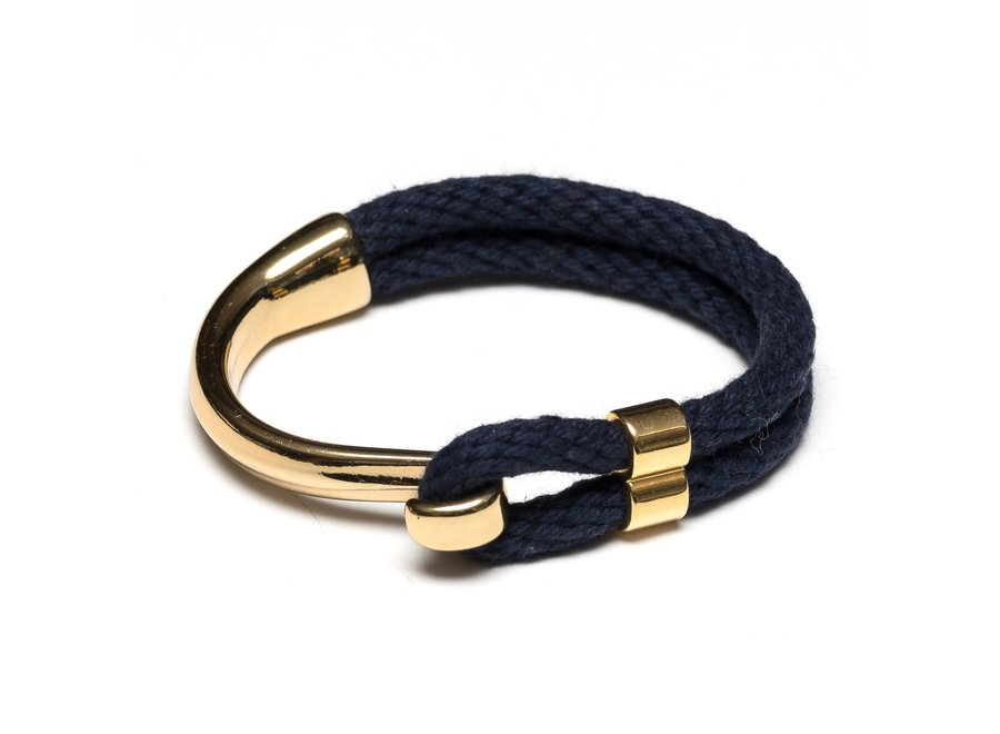 Hampstead Bracelet - Navy/Gold