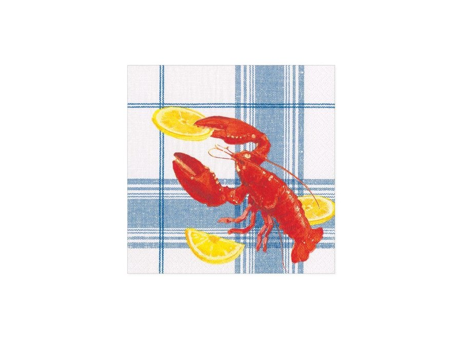 Lobster Bake Paper Cocktail Napkins - 20 Per Package