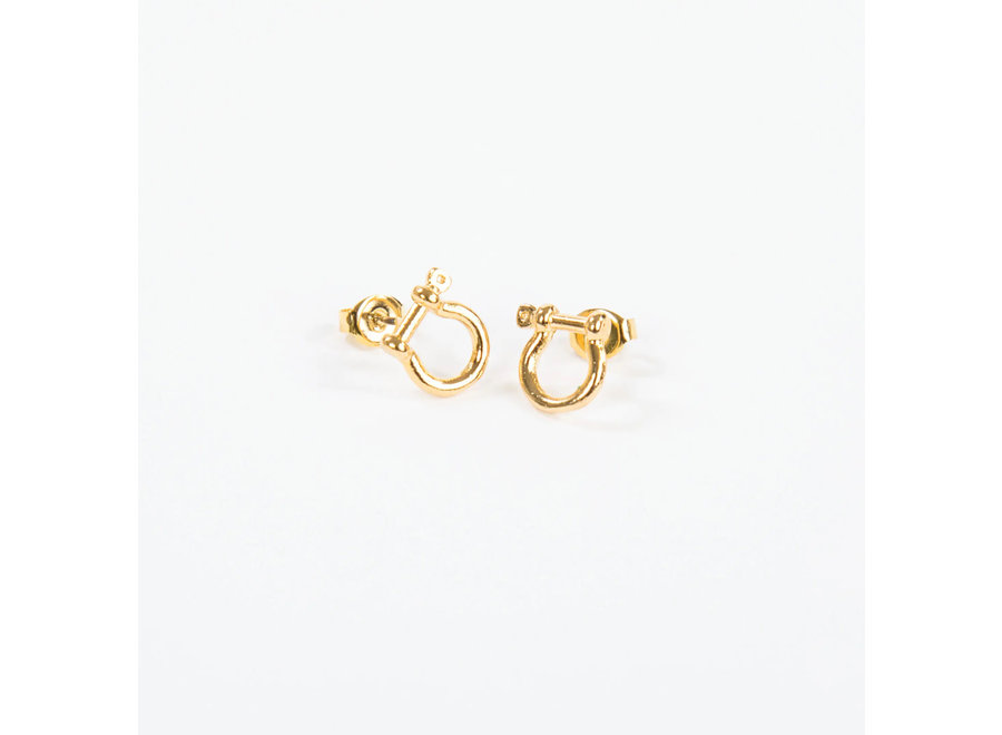 Mariner Shackle Earrings
