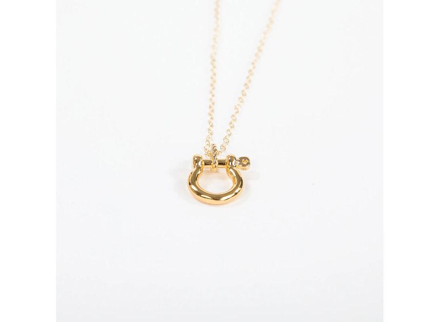 Mariner Shackle Necklace