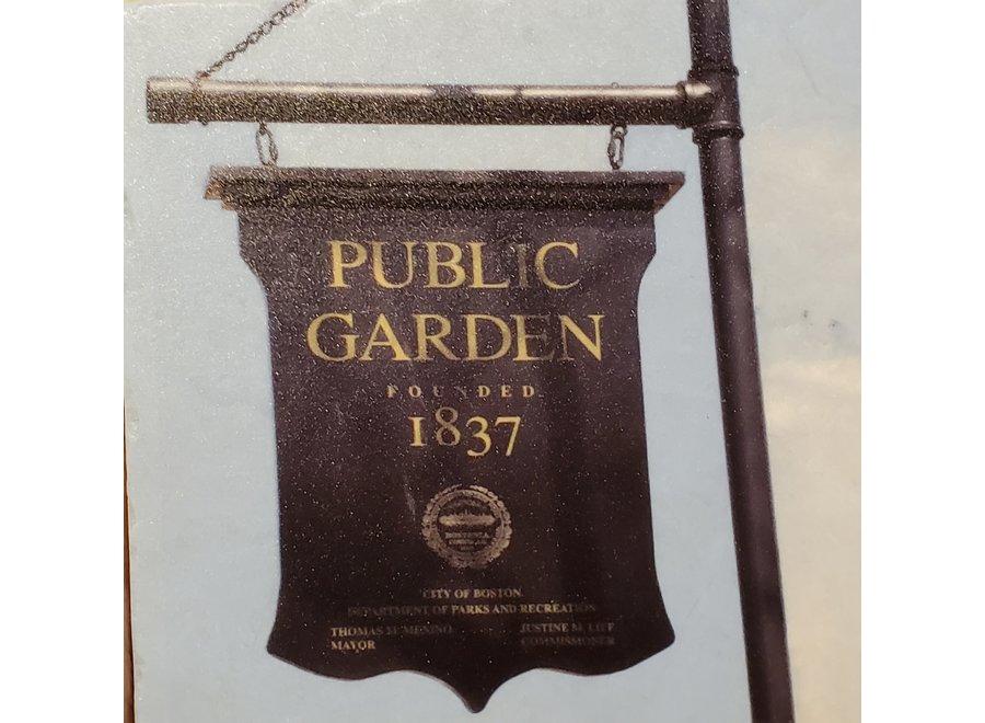 Public Garden Marble Coaster
