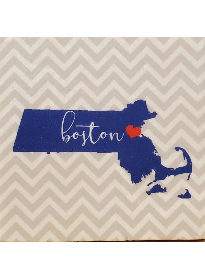 Boston Chevron Coaster