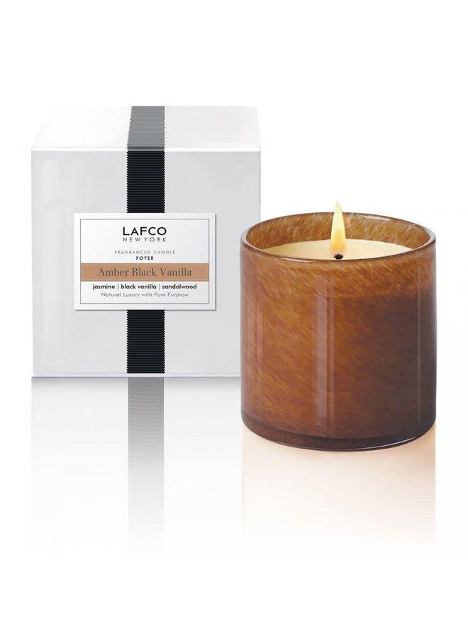 Candle Amber Black Vanilla