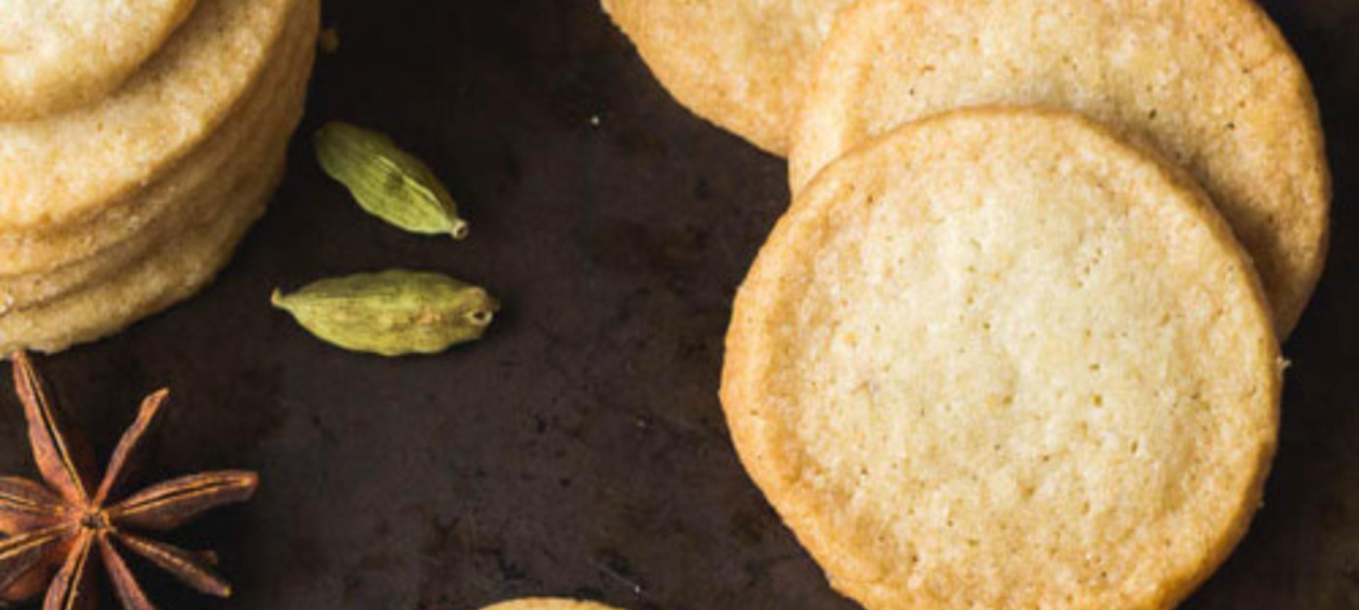 Fleur Spiced Shortbread Cookies