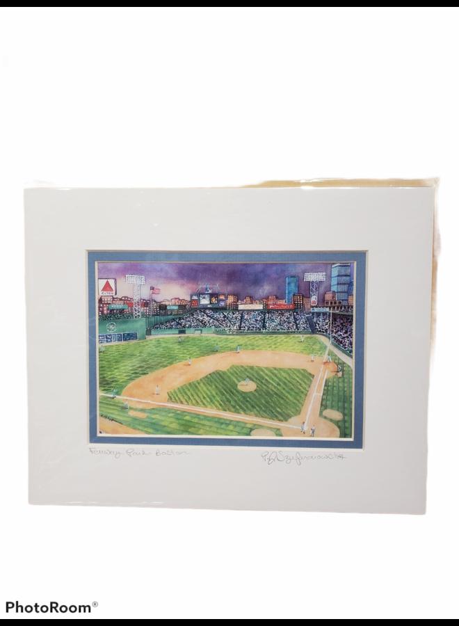 8x10 Print of Fenway Park