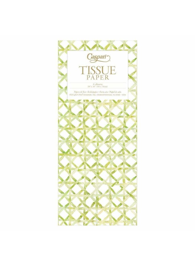 Holly Trellis Tissue Paper - 4 Sheets Included