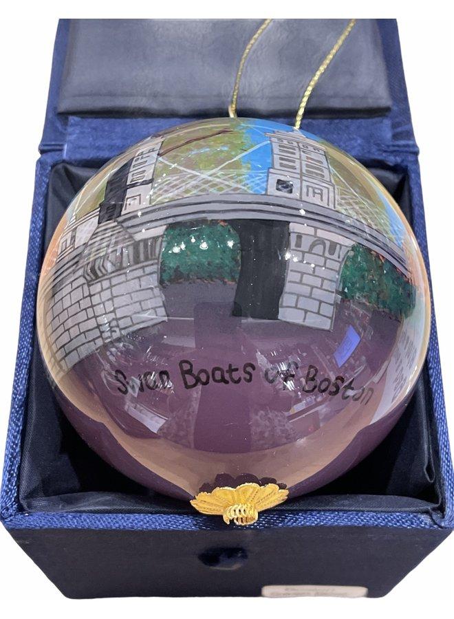 Boston Swanboat Ornament