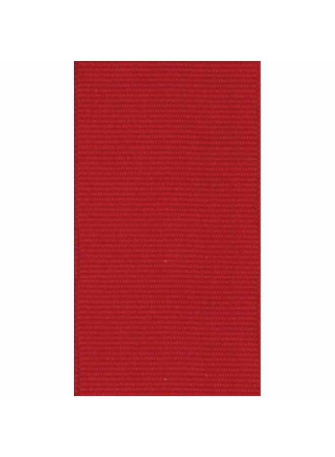 Narrow Red Grosgrain Wired Ribbon - 8 Yard Spool