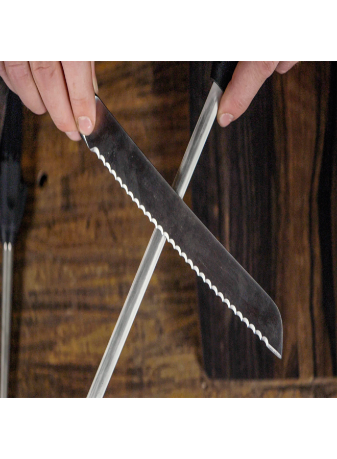 Serrated Knife Sharpening - Any Size