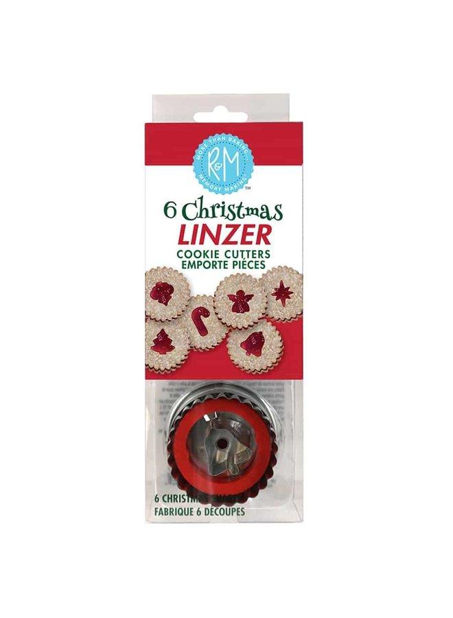 Christmas Linzer Cookie Cutter Set