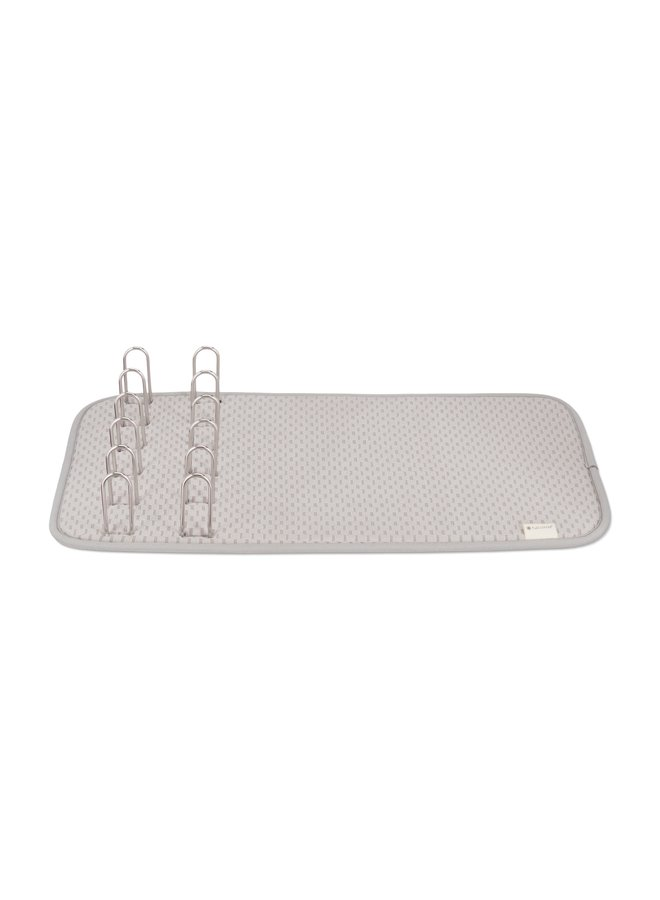 Shape Shifter 2-in-1 Dish Rack with Recycled Microfiber Mat
