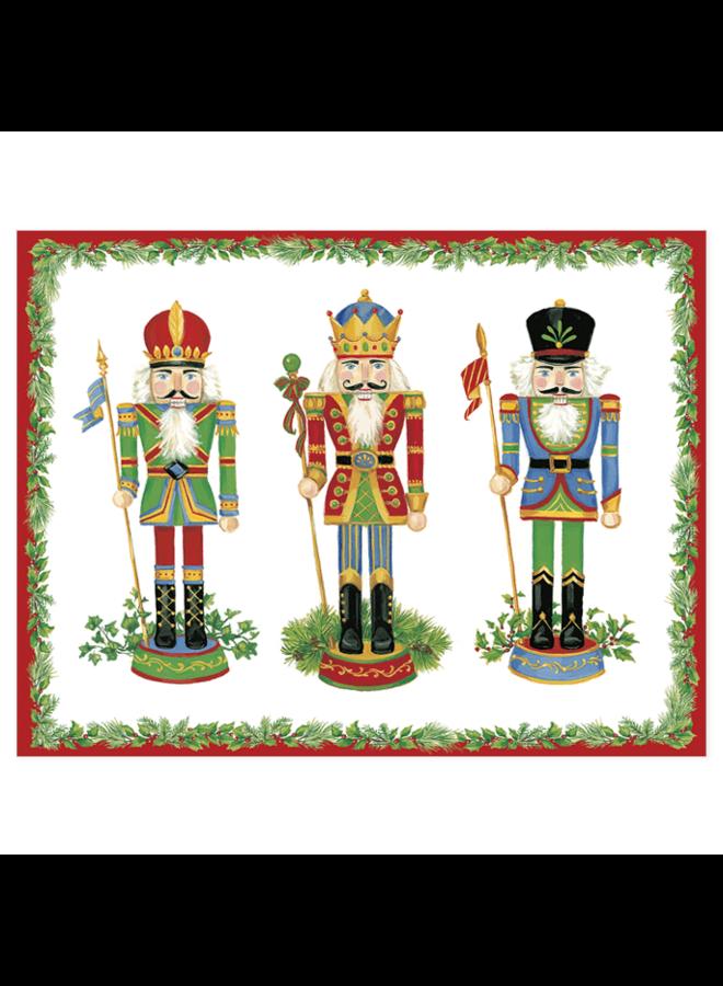 Nutcrackers Christmas Cards - 5 Cards & 5 Envelopes