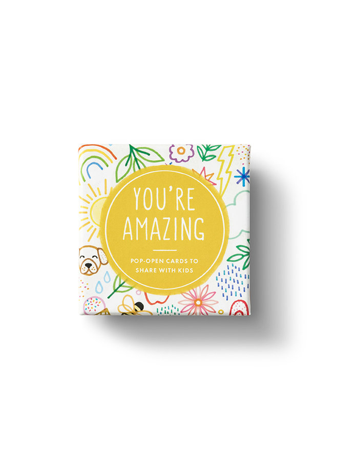 YOU'RE AMAZING ThoughtFulls for Kids Pop-Open Cards