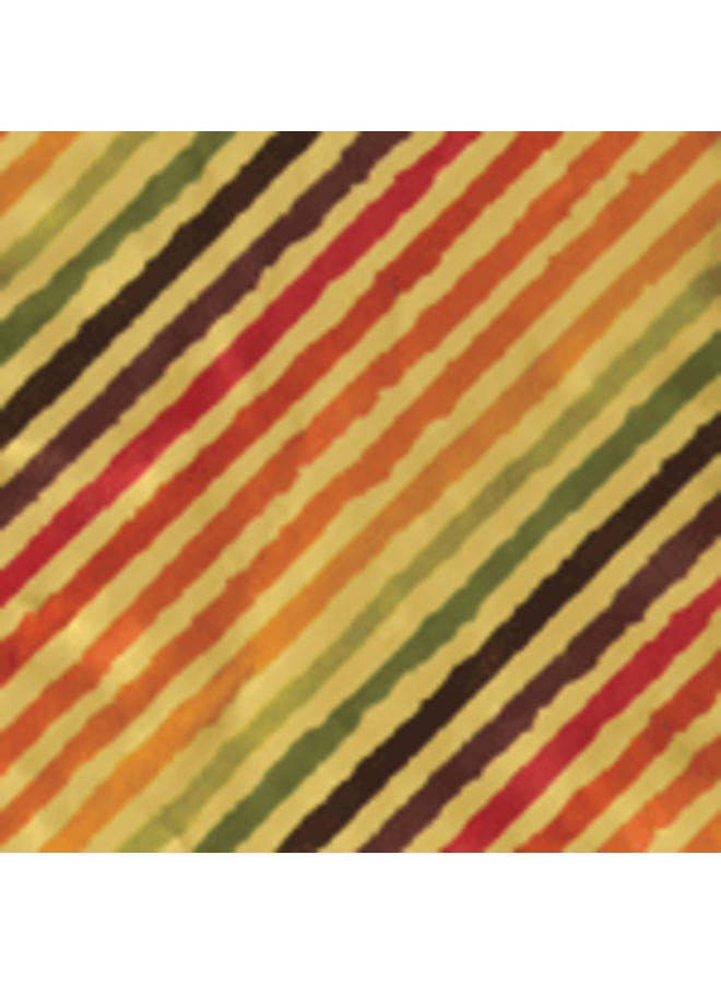 """Rainbow Stripe Gold Foil Continuous Gift Wrapping Paper - 30"""" x 5' Roll"""