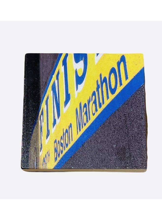 Boston Marathon Finish Line Coaster