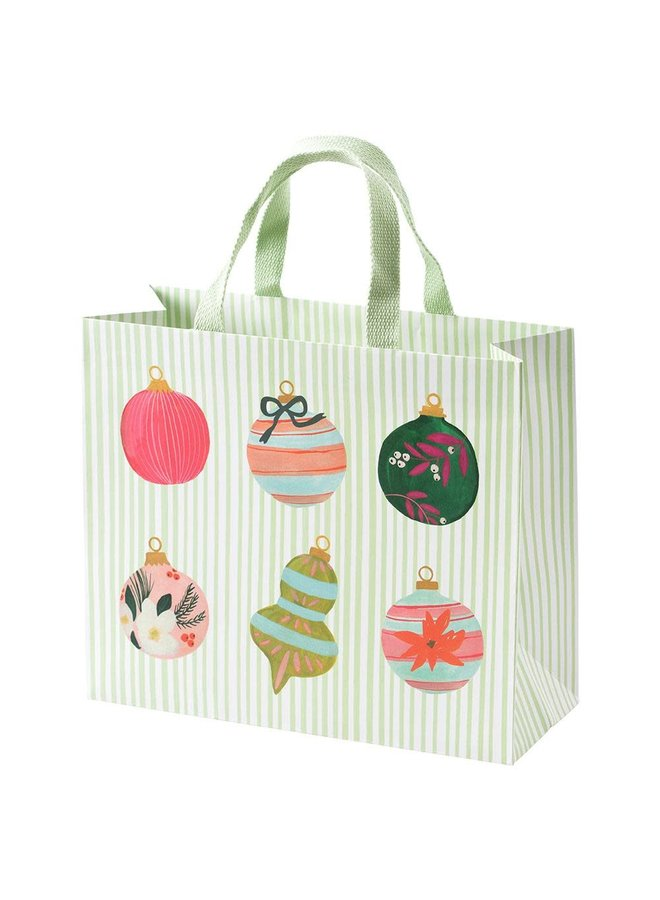 Painted Ornaments Large Gift Bag - 1 Each