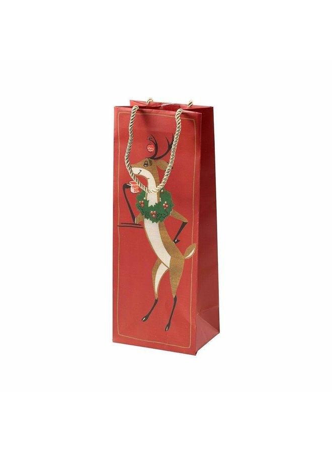 Oh Deer! Wine & Bottle Gift Bag - 1 Each