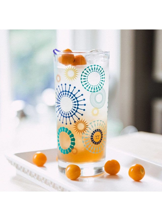 Gin 'n Atomic Collins Glass