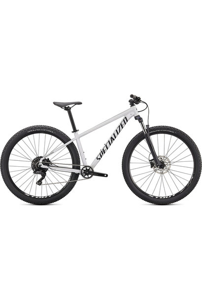 Rockhopper Comp 29 Metallic White Silver/Black