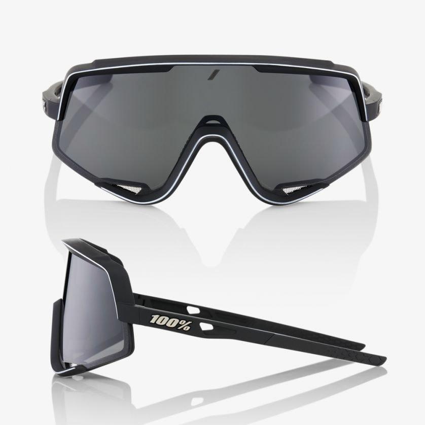 100% Glendale Black/Smoke Lens-2