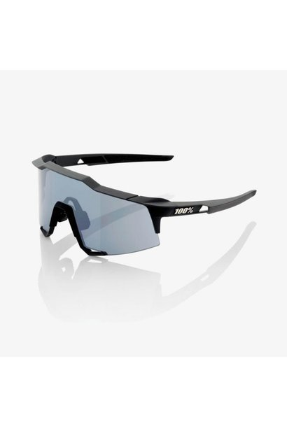 100% Speedcraft Black / Smoke Lens