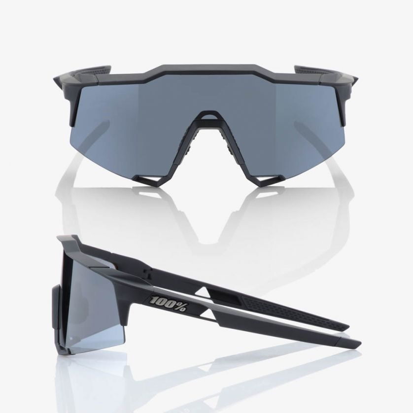 100% Speedcraft Black / Smoke Lens-2