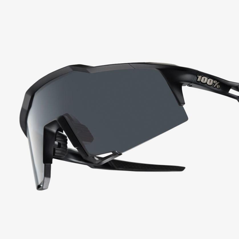 100% Speedcraft Black / Smoke Lens-3