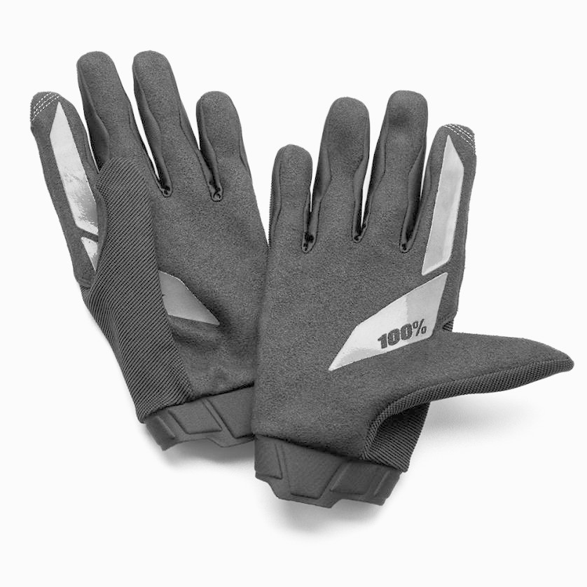 100% Ridecamp Youth Gloves Black-2