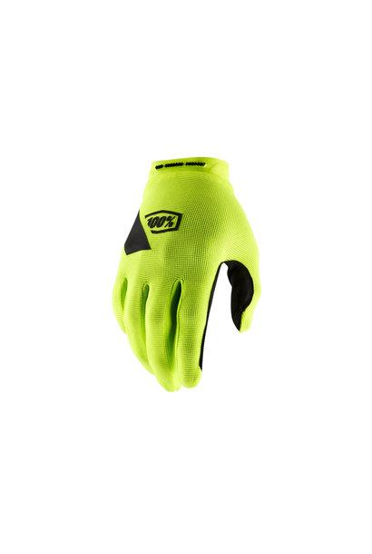 100% Ridecamp Glove Yellow