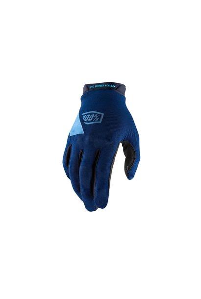 100% Ridecamp Glove Blue