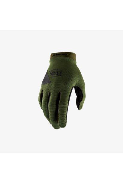 100% Ridecamp Glove Army Green