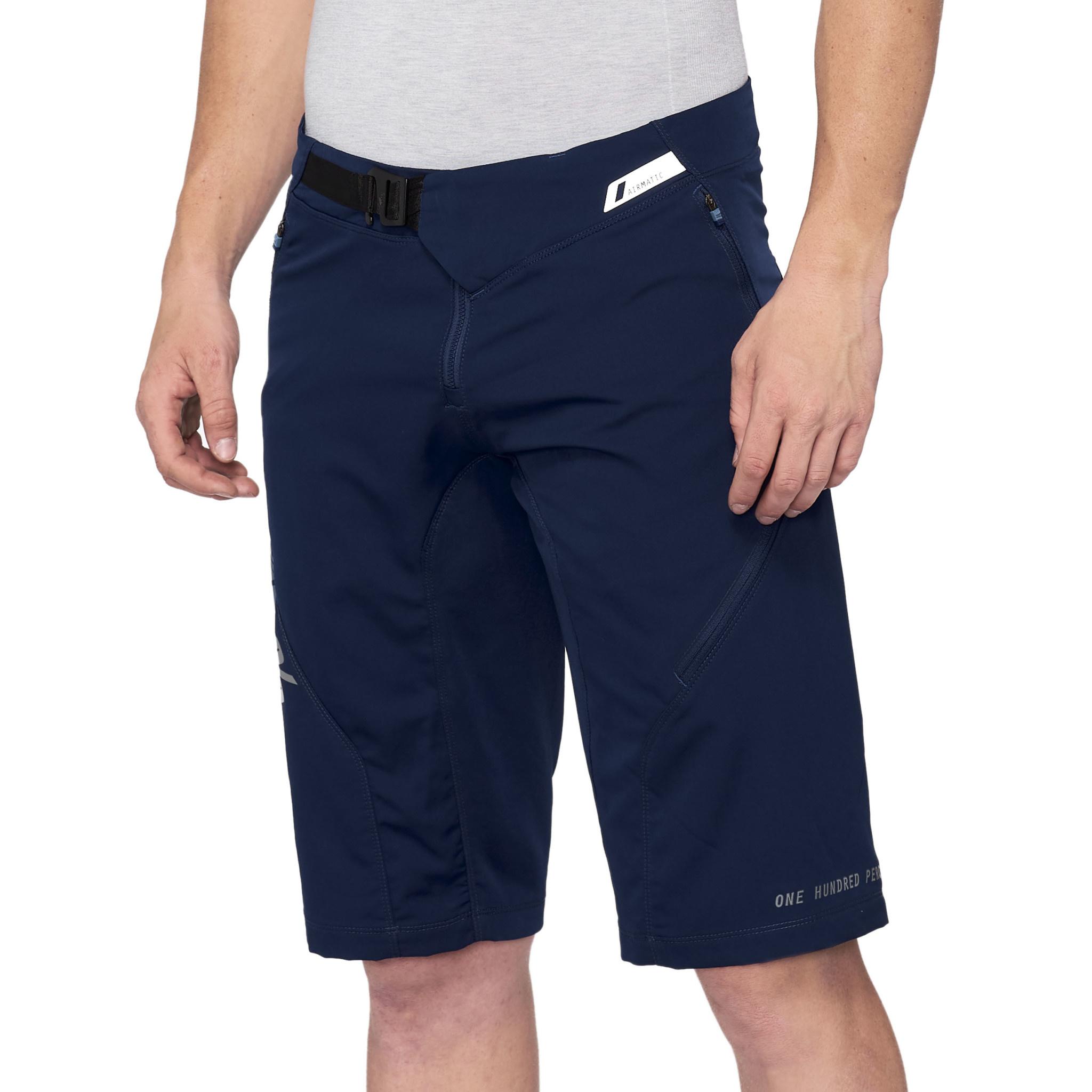 100% Airmatic Shorts Navy-1