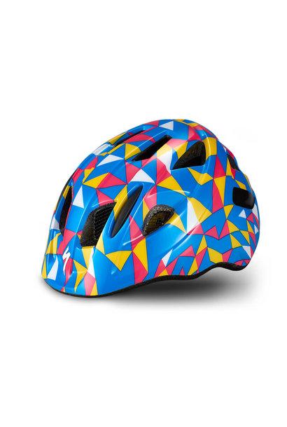 Mio Blue Yellow Geo Helmet Toddler