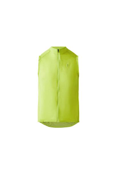 Deflect Wind Vest Hyper Green SM