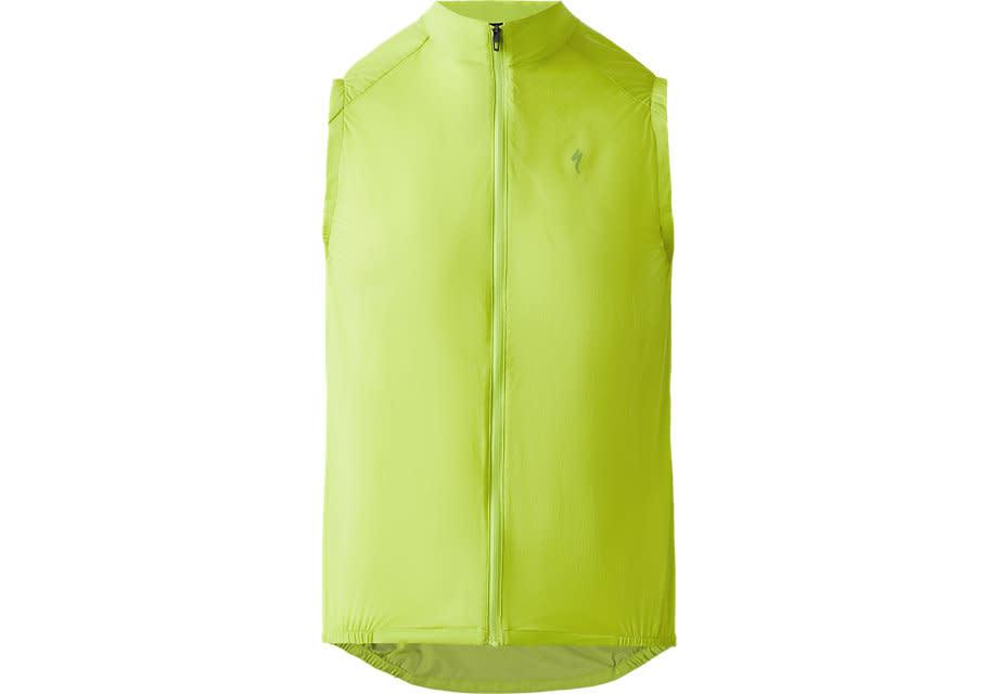 Deflect Wind Vest Hyper Green SM-1