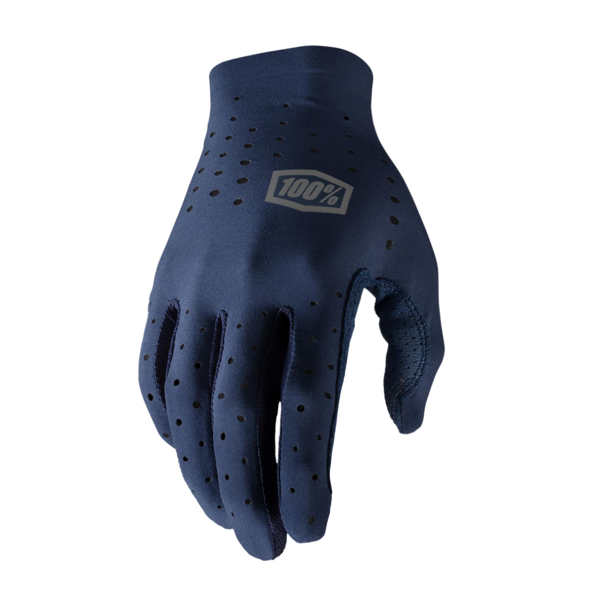100% Sling Glove Blue-1