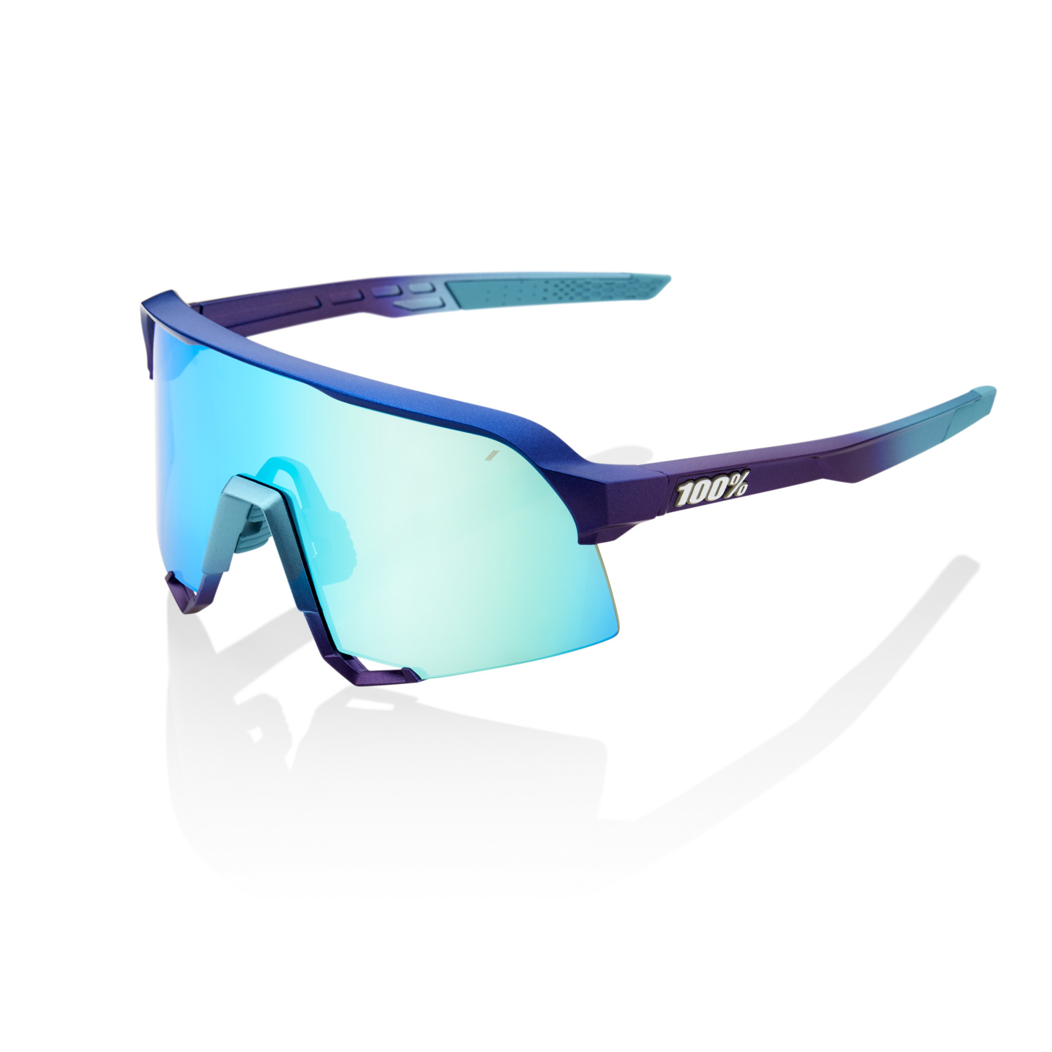 100% S3 Matt Metallic Blue Lens-1