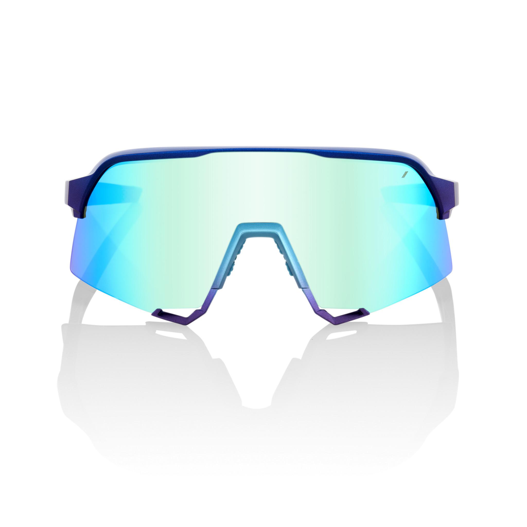 100% S3 Matt Metallic Blue Lens-3