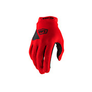 100% Ridecamp Youth Gloves red-1
