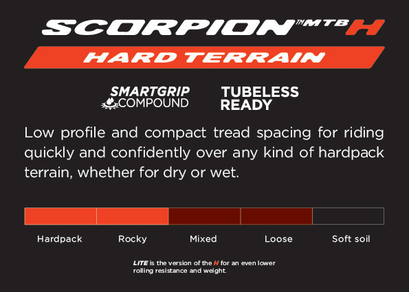 Scorpion XC Hard 29 x 2.4-3
