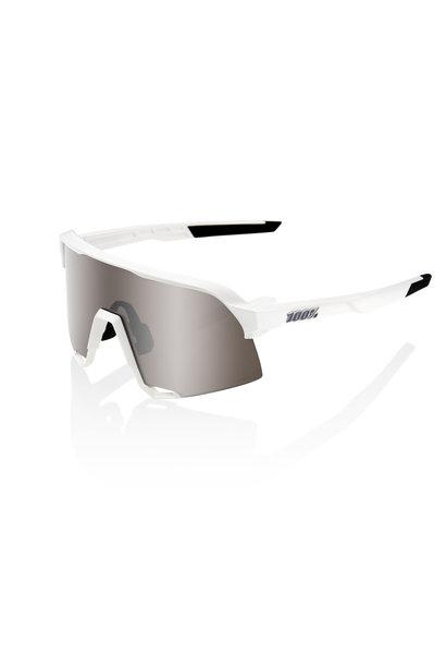 100% S3 White - Hiper Silver Multilayer Lens