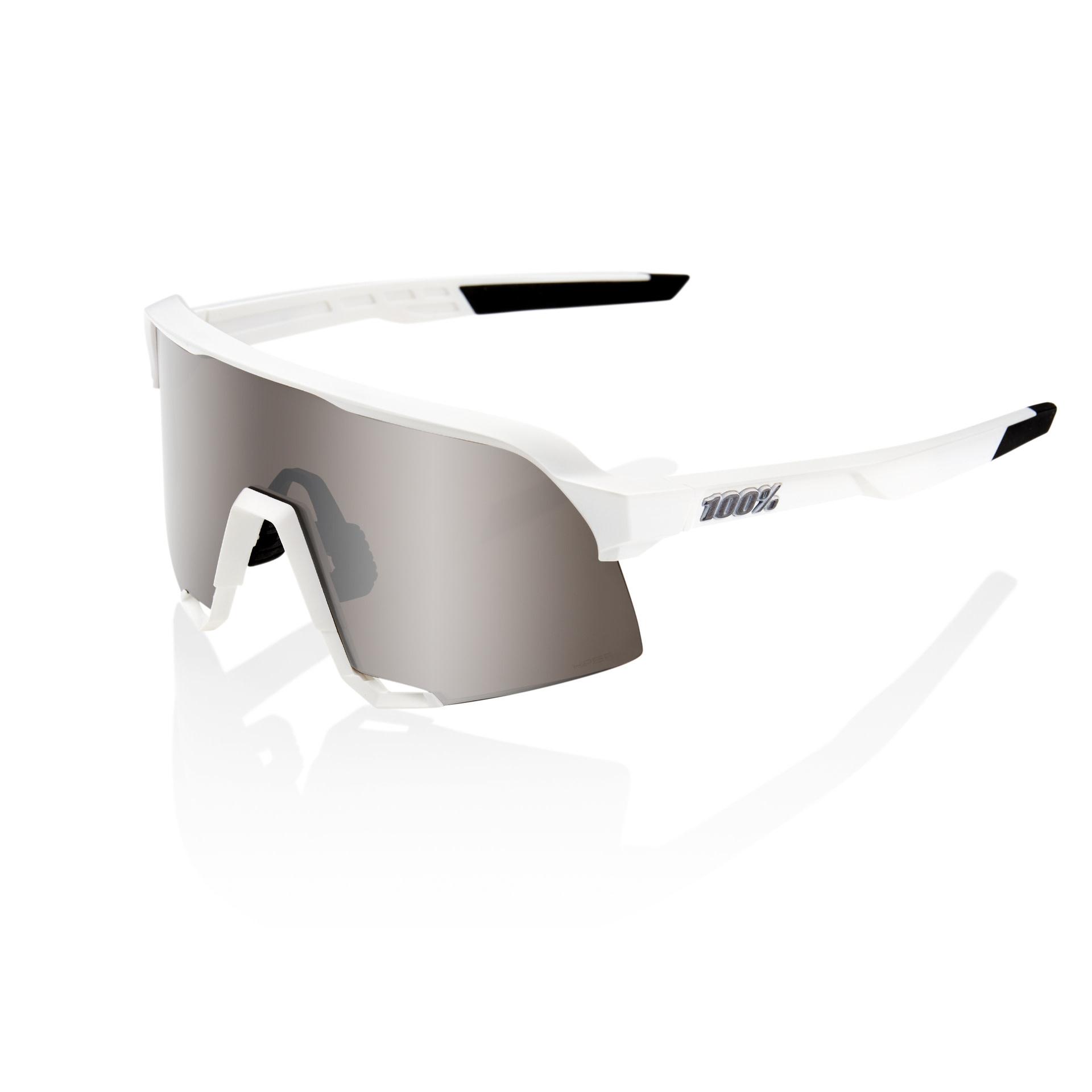 100% S3 White - Hiper Silver Multilayer Lens-1