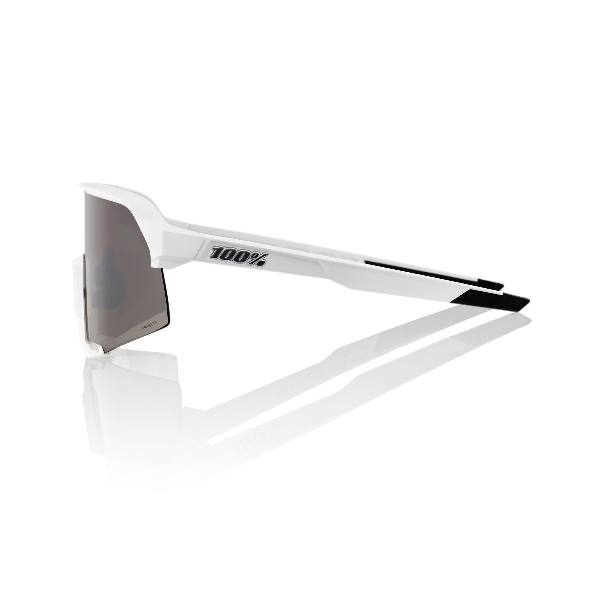 100% S3 White - Hiper Silver Multilayer Lens-3