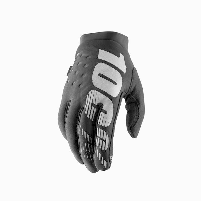 100% Brisker Glove Black-1