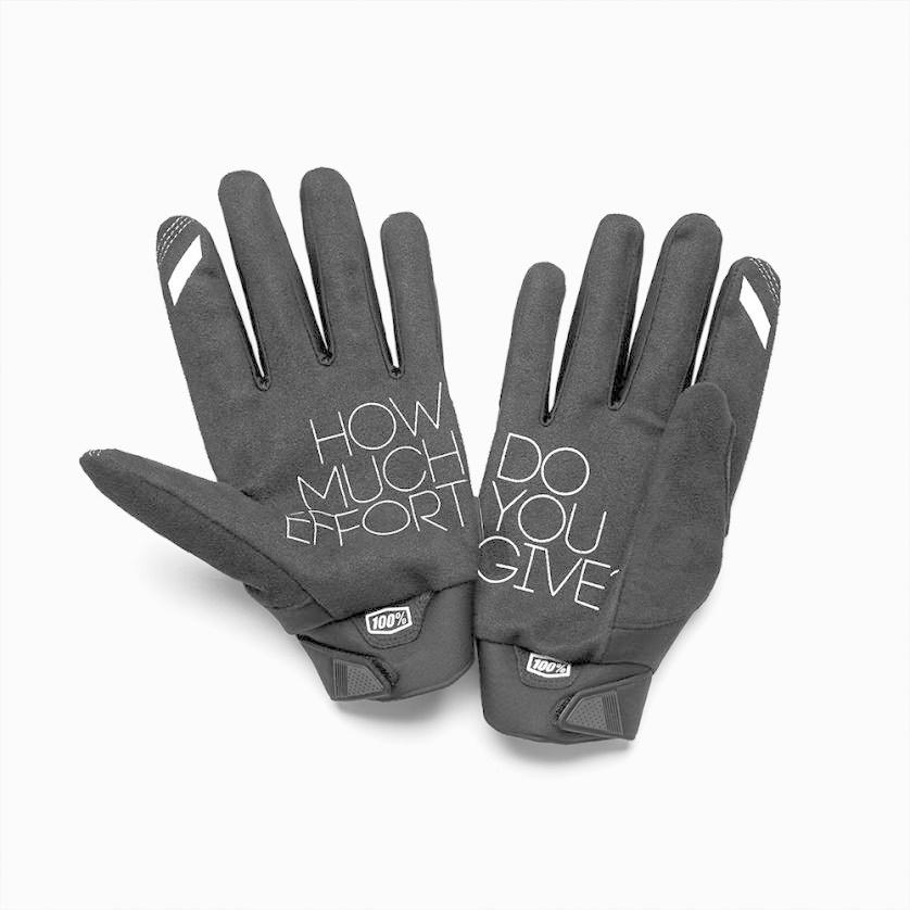 100% Brisker Glove Black-2