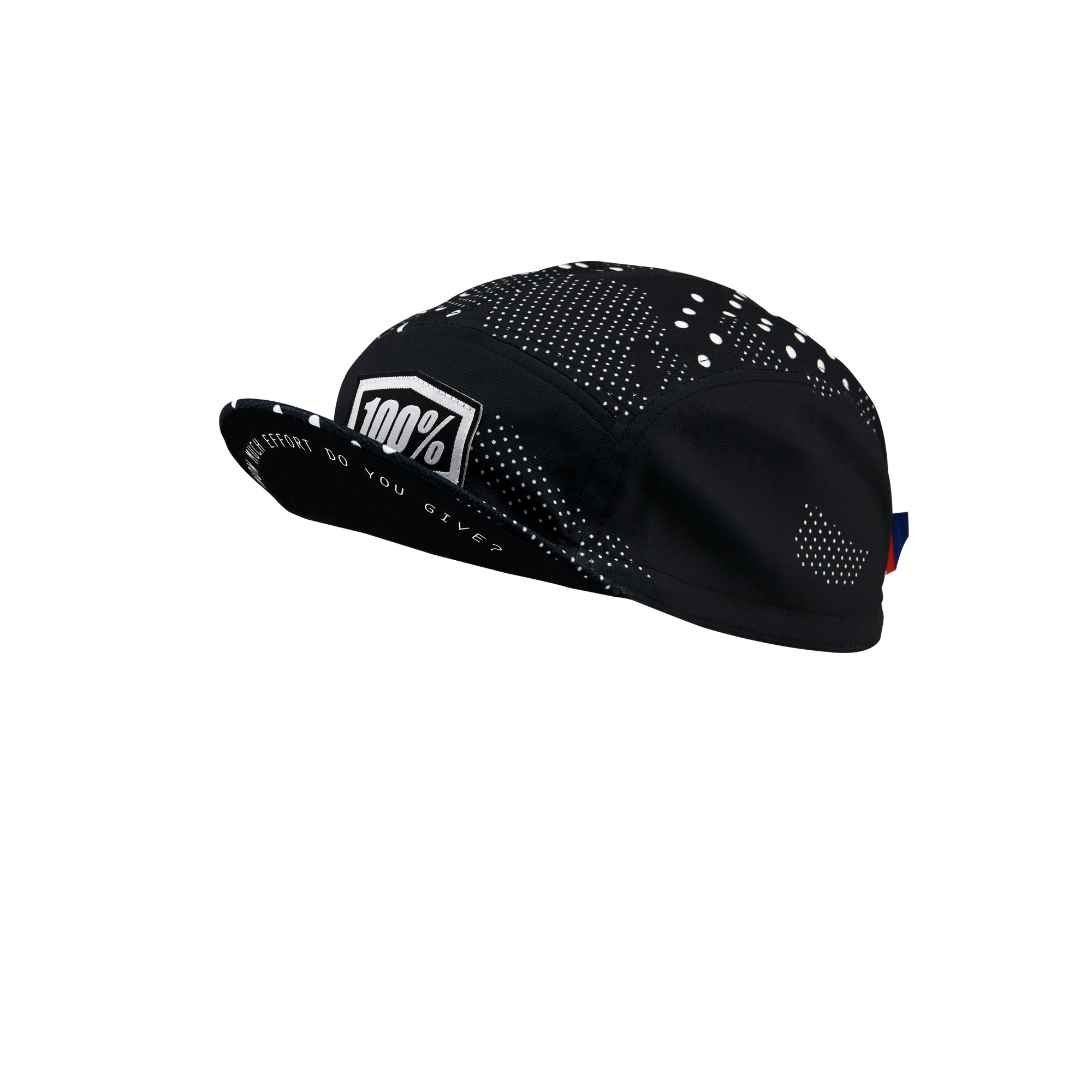 100% Exceeda Cap Black-1