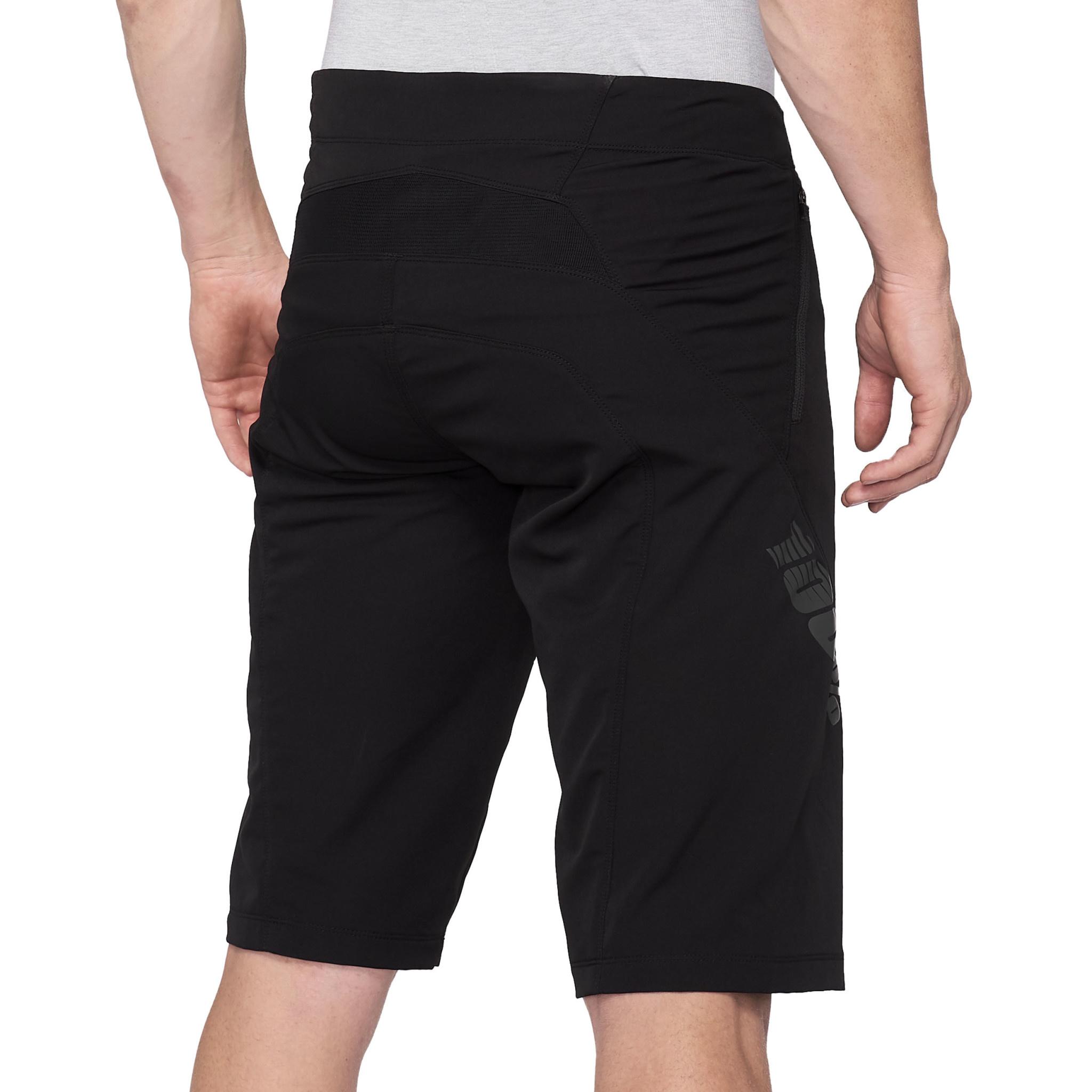 100% Airmatic Shorts Black-2