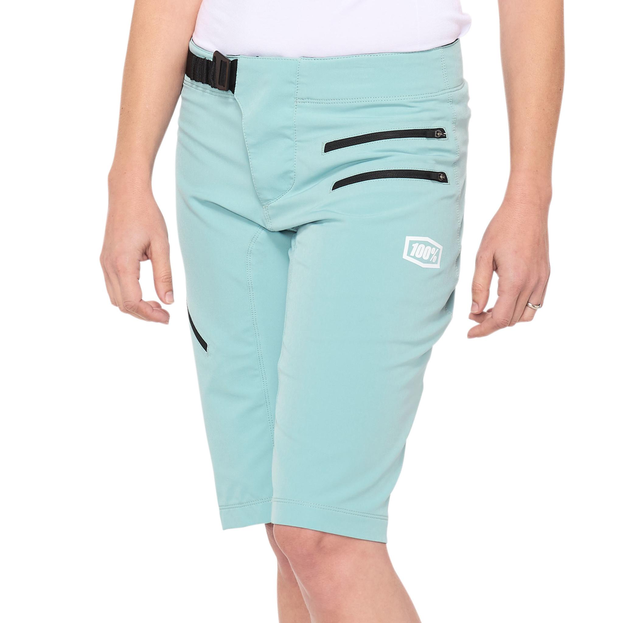 100% Airmatic Womens Short Sea Foam-1